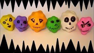 DIY Halloween Craft Ideas For Kids. Monster Surprise Candy Treats. Halloween Gifts. Easy Halloween Crafts.