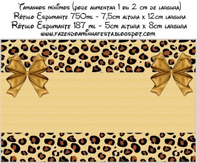 Oncinha - Kit Completo com molduras para convites, rótulos para guloseimas, lembrancinhas e imagens!