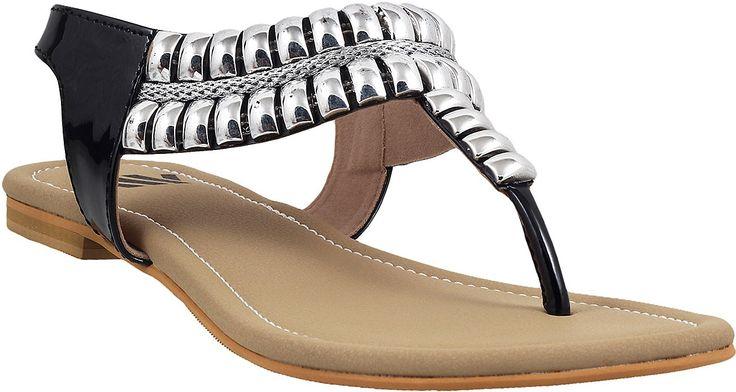 Walkway Fashionable Embellished Sandals