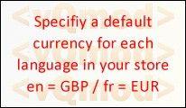 [VQMOD] Set default currency per language