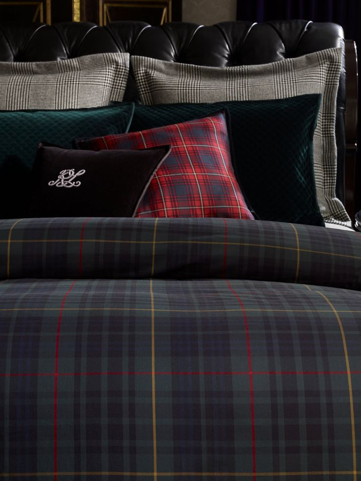 Best 25 tartan decor ideas on pinterest plaid couch plaid living room and the wildlife - Housse de couette tartan ...