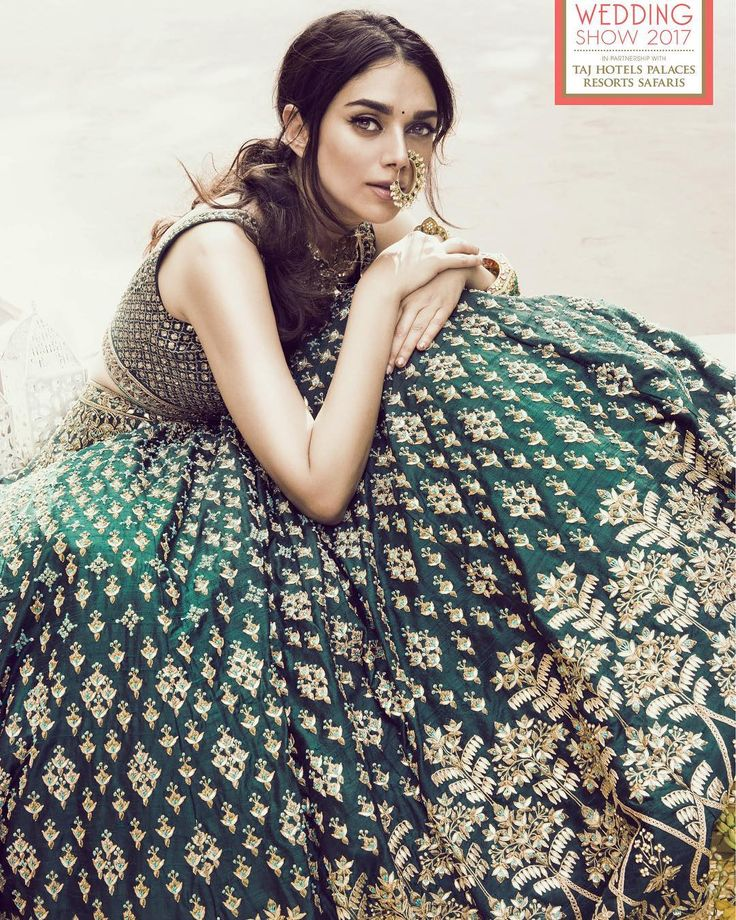 "Rani in Silk on Instagram: ""Vogue Wedding Show | 2017 | Anita Dongre x Aditi Rao Hydari It's that time again!!! #VogueWeddingShow"""