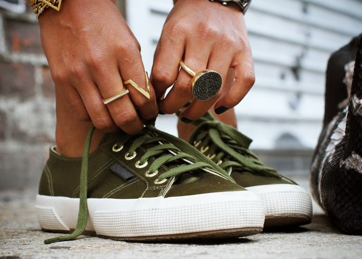 In love with these Superga's