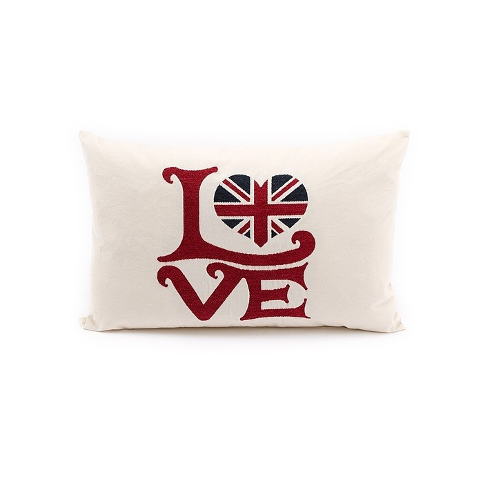UK Love cushion The designer touch for your interiors and wellness