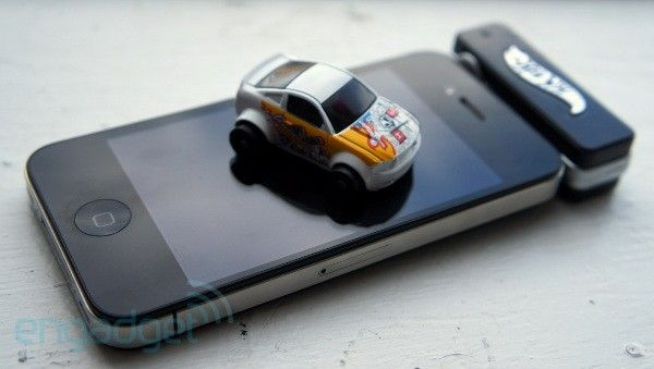 Little RC hot wheels controlled by an app.