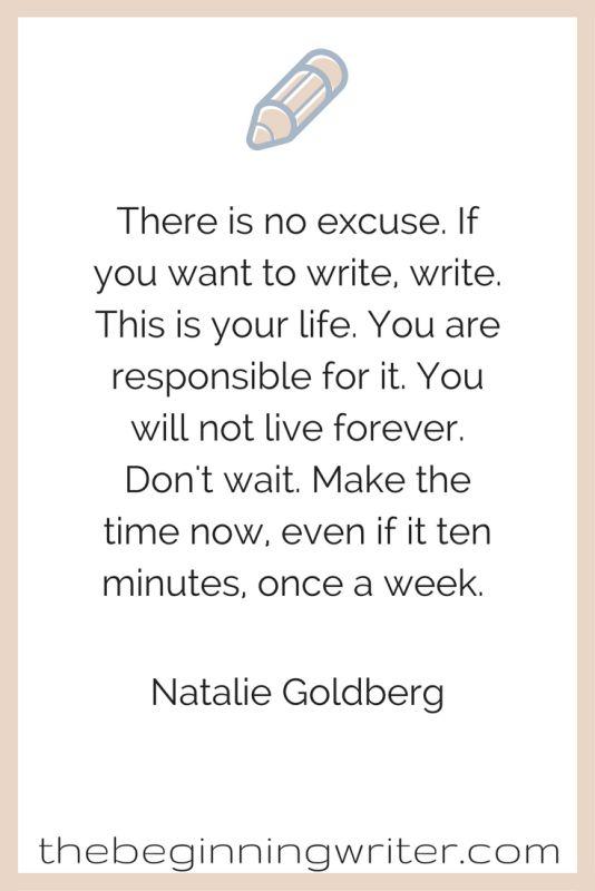 Quotable – Natalie Goldberg - Writers Write