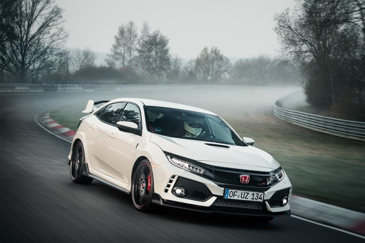 2017 Honda Civic Type R Sets World Record on the Nurburgring Gallery via Automobile iPhone App