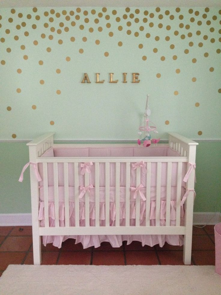 17 best ideas about mint green nursery on pinterest babies nursery baby storage and boy for Light pink and mint green bedroom
