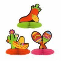 Party Time Celebrations  - Mini Fiesta Centrepiece Decorations Pack of 3, $8.50 (http://www.partytimecelebrations.com.au/mini-fiesta-centrepiece-decorations-pack-of-3/)