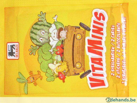 Vitaminis Delhaize - Kaarten en stickers ruilen - Te ruil