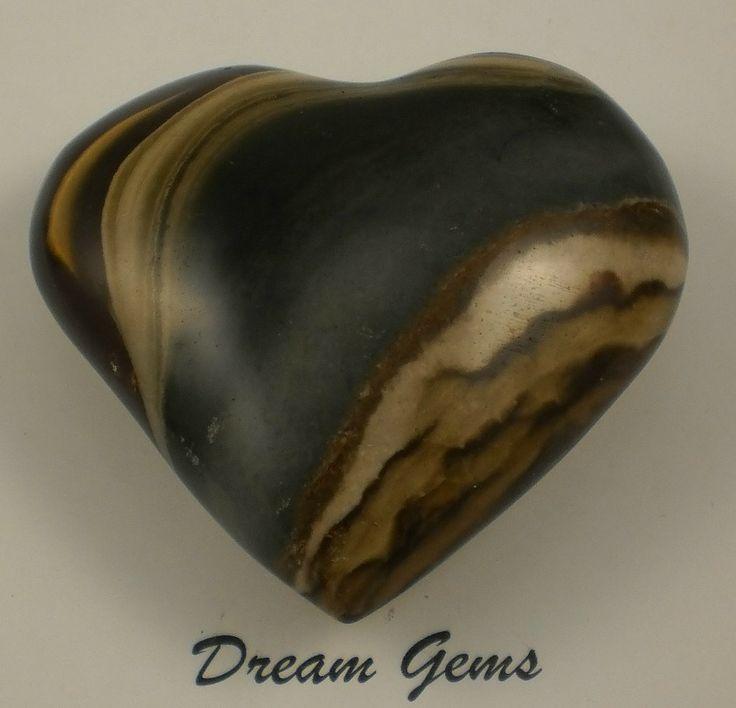 Dream Gems Polychrome Jasper Heart
