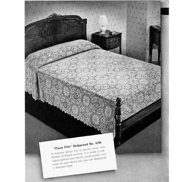 132 besten Crochet Bedspread Patterns, An Heirloom for the Making ...