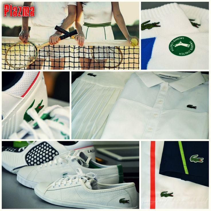 Lacoste - самая стильная и элегантная одежда и обувь для тенниса, выбор первых ракеток мира. Магазин «Все для тенниса» (TRK Plazma).   #Трк_плазма #trk_plazma #Plazma #плазма #Lacoste #лакост #теннис #tennis #спорт #теннис_киев #стиль