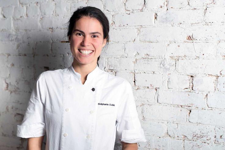 «La joie de vivre, c'est dans mon camp!», Stéphanie Audet, chef du restaurant LOV. Derrière les superbes expériences culinaires que propose le nouveau restaurant LOV, situé dans le Vieux-Montréal, se trouve la pétillante et créative chef Stéphanie Audet.