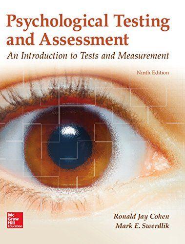 Psychological Testing And Assessment (B&B Psychology) PDF