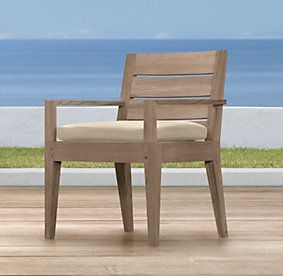 1000 images about patio furniture on pinterest teak for Restoration hardware teak outdoor furniture
