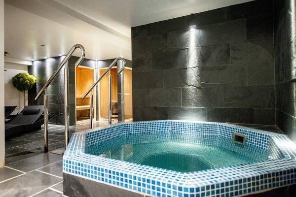 Woolacombe Bay Hotel Spa pool