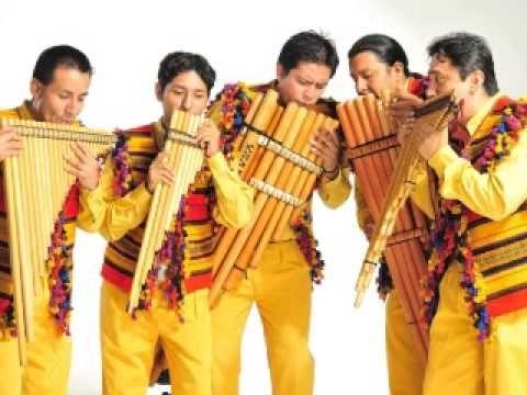MUSICA ANDINA-GRANDES INTERPRETES (3 de 5).Selección de Cecil González