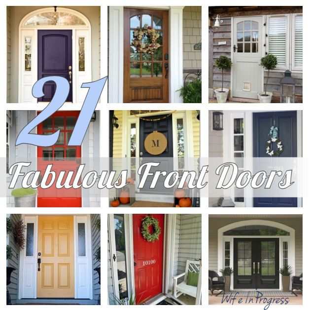 For your inspiration 21 fabulous front doors doors for Fabulous front doors