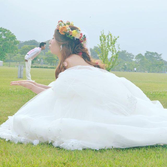 #ウェディングフォト #遠近法 #love #可愛い#nikon #写真好きな人と繋がりたい #ニコン #ファインダー越しの私の世界 #team_jp_ #結婚写真#ロケーション前撮り#weddingphoto