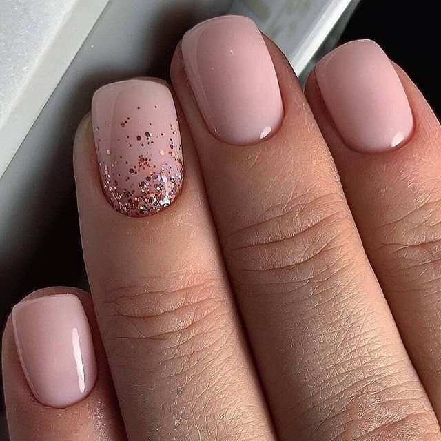 Stylish And Beautiful Natural Nails Vida Joven In 2020 Short Acrylic Nails Designs Square Nail Designs Square Acrylic Nails