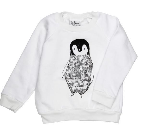 Chandail coton ouaté- Mr. pingouin