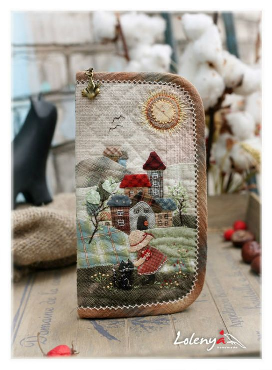 Gallery.ru / Eyeglass Case - Japanese patchwork 2 - lolenya