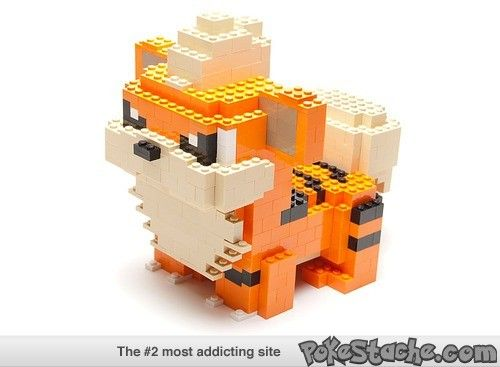 Pokemon+Legos=ERRMMAAGEEERRRSSSHHHH!!!!!!!!!!!!!!!!!!!!!! It being growlithe didn't help matters either hahaha