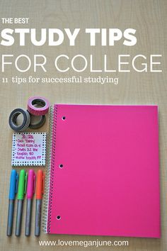 The BEST study tips for college. Definitely a must read for any college students. This post presented some study methods I hadn't heard of that I'm excited to try!