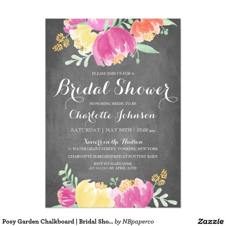 Best  Bridal Shower Invitations  Images On