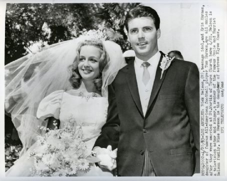 Ricky Nelson and Kris Harmon married April 20, 1963. They had four children, separated in 1977, and their contentious divorce was finalized in 1982. He died in a plane crash on new year's eve 1985. She married Mark Tinker in 1988 and divorced in 2000.