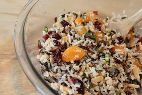 Brown and Wild Rice Salad with Mandarin Oranges (and Cooking Matters) « Kitchenbelle