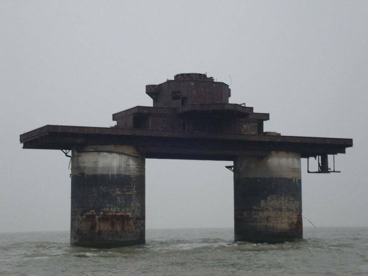 The Maunsell Forts are heavily armed 'metal islands' built during WWII to defend the United Kingdom from invasion. In total, there are ten Maunsell Forts: six of them were operated as army forts and the