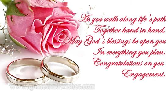 congrats on getting engaged picture love quotes and