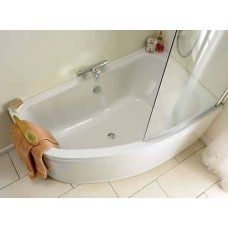 Shower Baths, P Shape and L Shape Corner Baths at Bathroom City