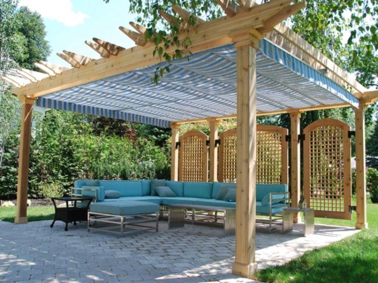 Resultado De Imagen De Retractable Pergola Roof Diy