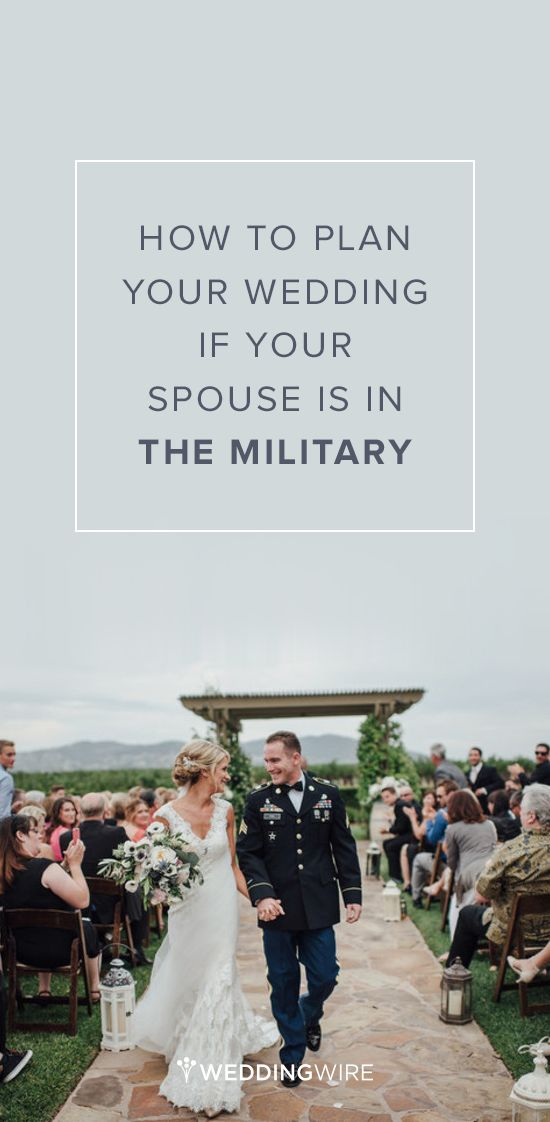 Wedding Advice: How to Plan Your Wedding if Your Spouse is in the Military {Vitaly M Photography}