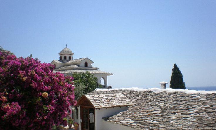 Blue Sky of Thasos
