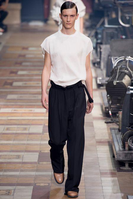 Lanvin Spring 2014 Menswear