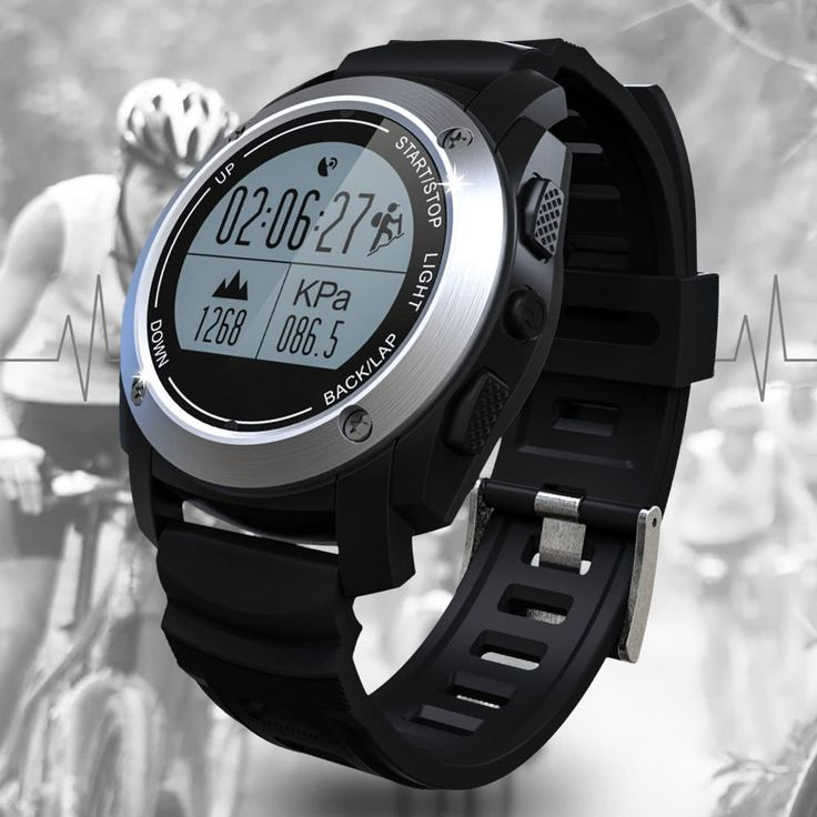 GPS Outdoor Digital Running Smart Sports Sales Online orange - Tomtop