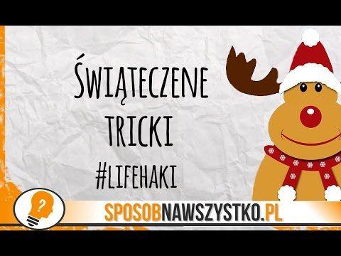 Świąteczne triki - LifeHacki - Life Hacks -DIY -  Boże Narodzenie #christmas #video