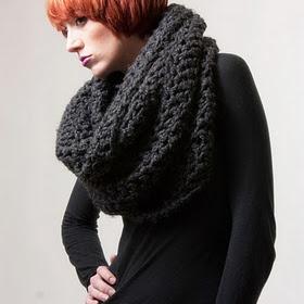 Love chunky scarves!