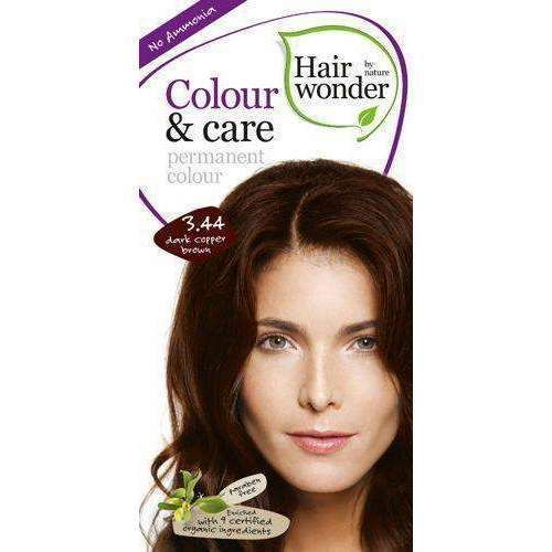 Hairwonder Colour Care Hair Dye 3 44 Dark Copper Brown 100ml Coloring And A Recipe For Getting A Beautiful Unique Colors Hair Color Dyed Hair Hair