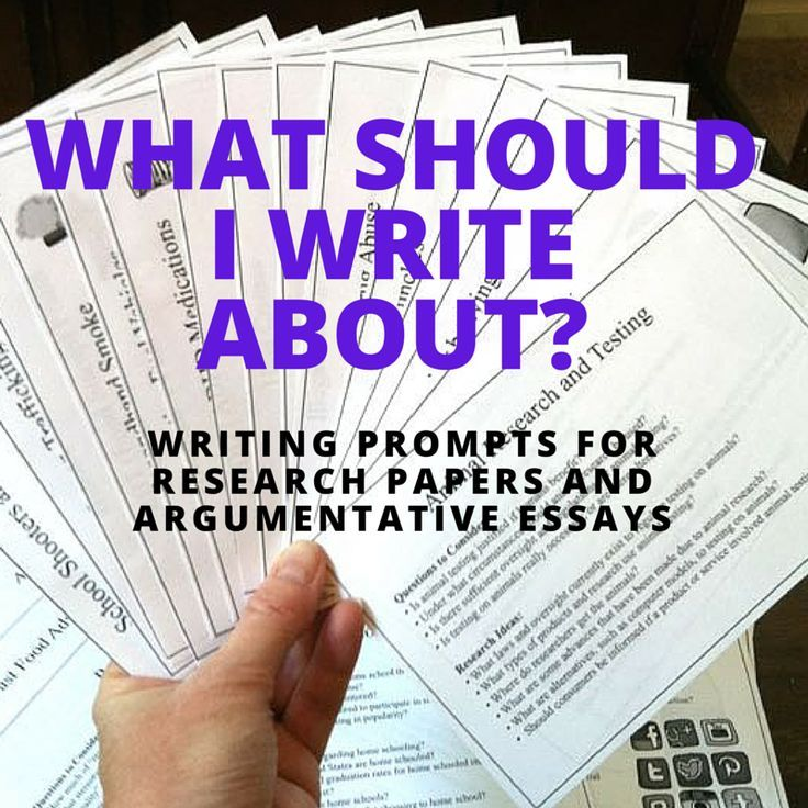 good argumentative research paper ideas