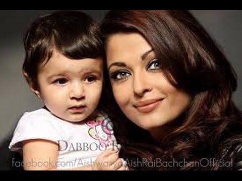 Aishwarya Rai's Baby Aaradhya Bachchan Photos very nice - YouTube