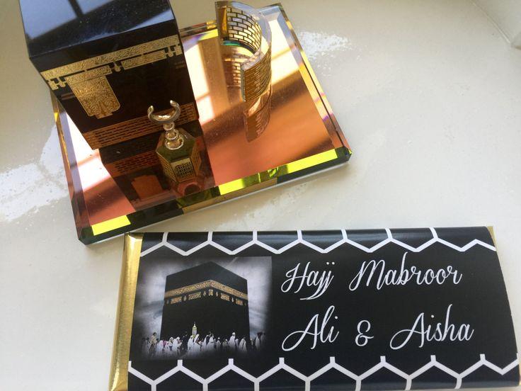Hajj, Umrah, personalized candy wrappers, Eid al Adha, Eid favors, umrah party, hajj party, haji, kaba, pilgrimage, eid ul azha, 24 ct by…