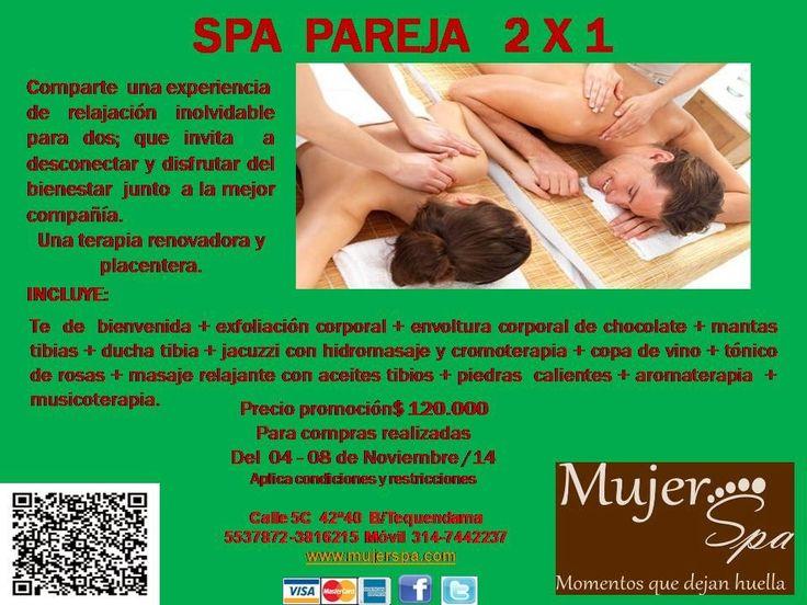 Mujer Spa: SPA  PAREJA