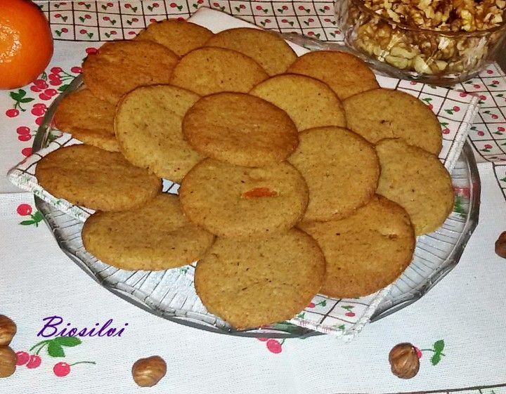 Biscotti di farro all'arancia, noci e nocciole | Biosilvi