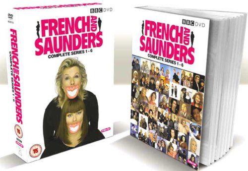 French & Saunders Series 1-6 Box Set 6 discs DVD: Amazon.co.uk: Dawn French, Jennifer Saunders: DVD & Blu-ray