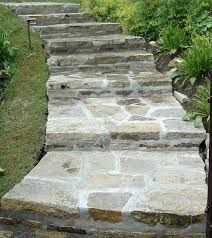 """Résultat de recherche d'images pour """"comment faire des marche d escalier en pierre d exterieur"""""""